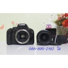 Canon 550D Lens 18-55 IS II อุปกรณ์พร้อมกระเป๋า เมนูไทย อดีตประกันร้าน