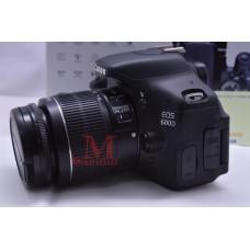 Canon 600D อปกศ ชัตเตอร์ 14,341 มีกล่อง เลนส์ 18-55